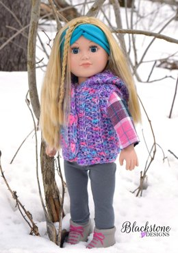 Sunkissed Hooded Vest - Doll