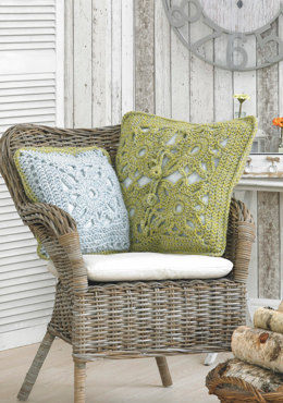 Cushion Covers in Stylecraft Nordic Super Chunky - 9092