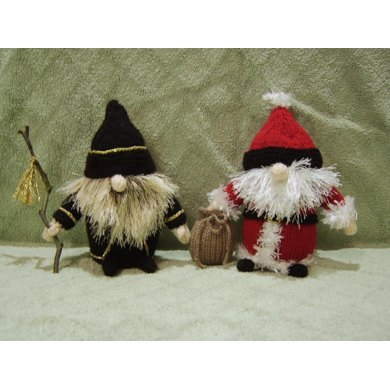 Wizard and Santa Gnomes