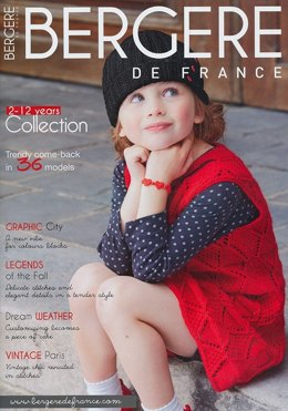 Bergere de France Magazine 168 - Knitting Magazine 2-12 Years