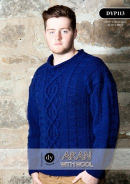 Sweater in DY Choice Aran With Wool - DYP113