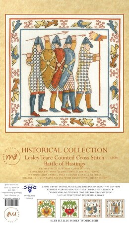 Creative World Of Crafts The Battle of Hastings Cross Stitch Kit