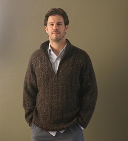 Learn to Knit a Men's Sweater
