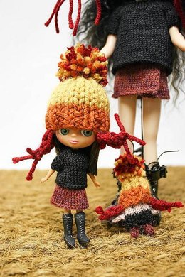 Cunning Jayne Cobb Firefly Hat for Petite Blythe