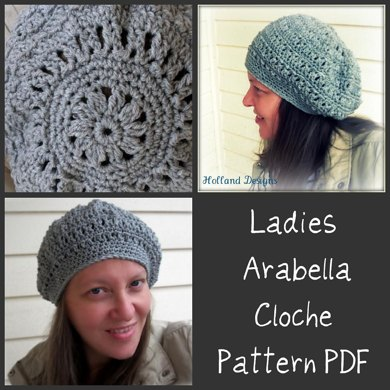 Ladies Arabella Cloche