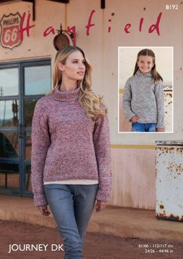 Jumper & Jacket in Hayfield Journey DK  - 8192 - Downloadable PDF