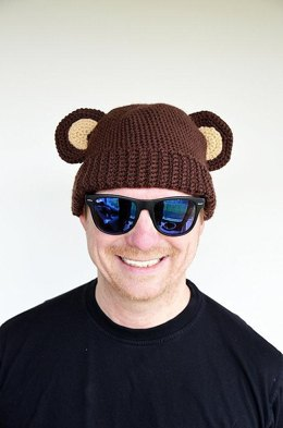 Bear Hat Crochet Pattern