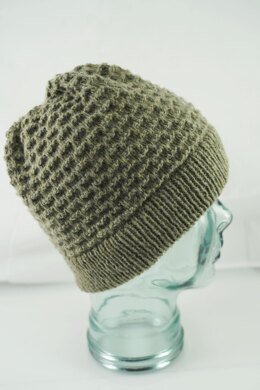 Climbing Wall Hat in Cascade Yarns ReVerb - DK658 - Downloadable PDF