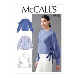 ba2ab90274e18b McCall s Misses  Top M7837 - Sewing Pattern