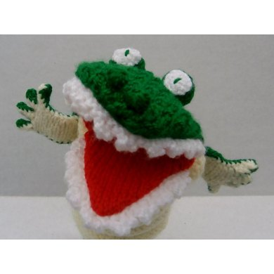 Snappy the Crocodile Glove Puppet