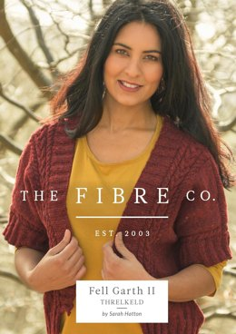 Threlkeld Cardigan in The Fibre Co. Arranmore Light - Downloadable PDF