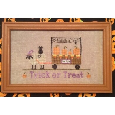 Needle Bling Trick or Treat (2 of 4) - The Sheep Peddler Series - NBD58 -  Leaflet