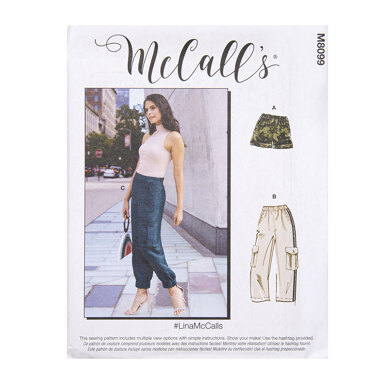 McCall's Misses' Pants M8099 - Sewing Pattern