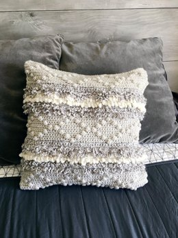 Textured Oaks Pillow