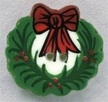 Mill Hill Button 86150 - Christmas Wreath