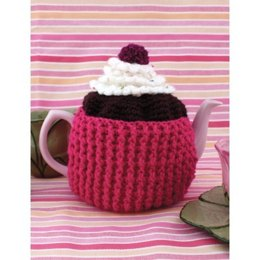 Cupcake Tea Cozy in Patons Canadiana