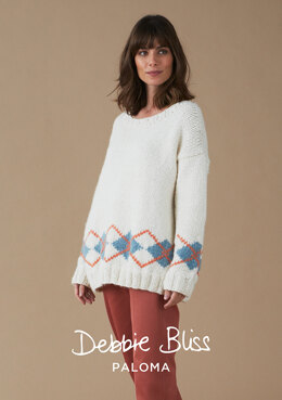 Skye Sweater in Debbie Bliss Paloma - DB245 - Downloadable PDF