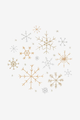 Snowflakes in DMC - PAT0806 - Downloadable PDF