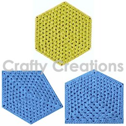 Hexagon and Two Pentagons