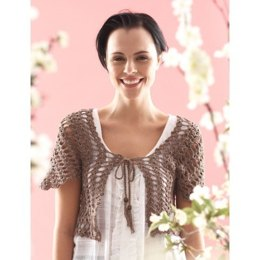 From the Middle Bolero in Patons Grace - Downloadable PDF