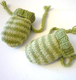 Easy Baby Stripe Mittens