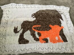 Lion King Inspired Baby Blanket
