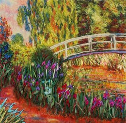 Panna Irises by the Pond Ribbon EmbroideryKit