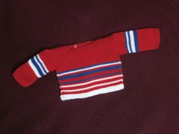 Easy Knit Wrapover Baby Top