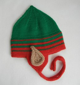 Christmas Elf Earflap Hat