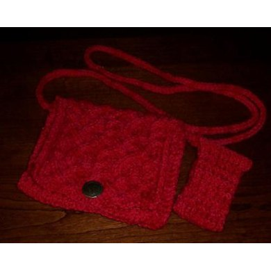 Red Hot Pocket Purse (with Cell Phone Sweater)