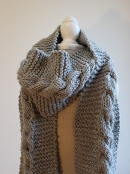 Men's Storm Cable Scarf