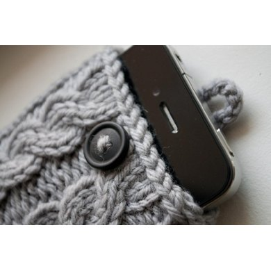 Kare Knits' Signature Cable Knit iPhone Case