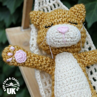 Relaxing Ralph Cat Amigurumi