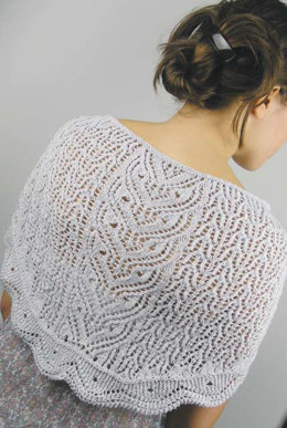 Lacy Owls Shawl in knit One Crochet Too Cozette - 1982