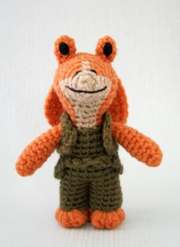 Jar Jar Binks - Star Wars Mini Amigurumi