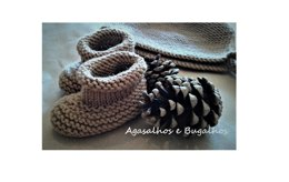 Boreal Baby Booties