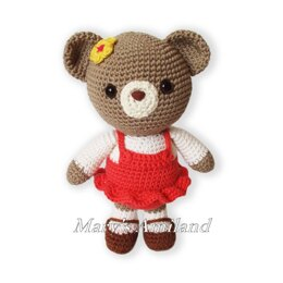 Amigurumi Carm Girl Bear the Ami