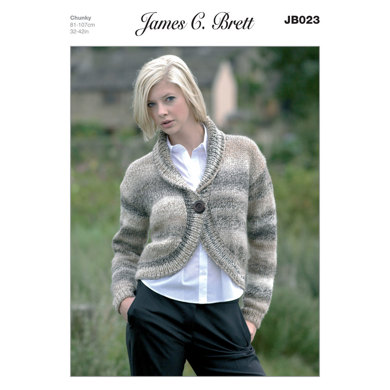 Bolero in James C. Brett Marble Chunky - JB023