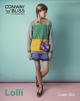 Colour Block Sweater in C+B Lolli