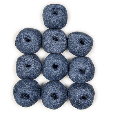 Debbie Bliss Cotton Denim DK 10 Ball Value Pack