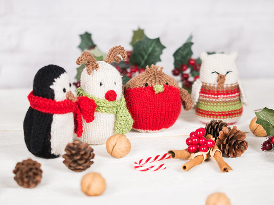 10 free knitting patterns for Christmas