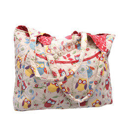 Groves Two Hoots Maxi Craft Bag - Beige