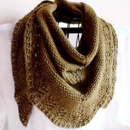 Lady's Mantle Triangle Scarf