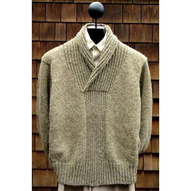 MS 133 Shawl Collar Pullover