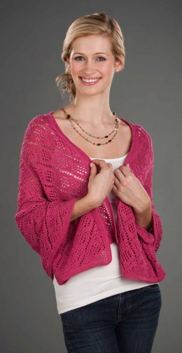 Rose Lace Shawl in Nazli Gelin Garden 5 - 1704 - Downloadable PDF
