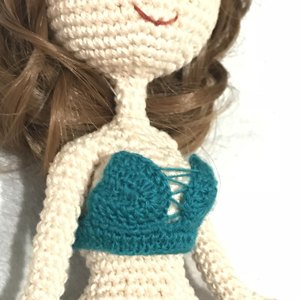 How to make your amigurumis and crocheted dolls poseable ... | 300x300