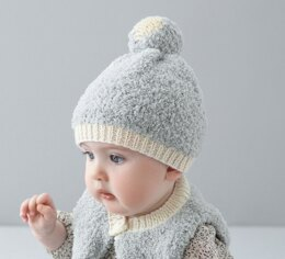 Baby Hat in Phildar Phil Douce & Partner 3.5 - Downloadable PDF