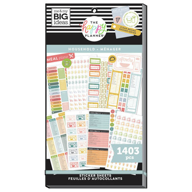 Me & My Big Ideas The Daily Chores 30 Sheet Sticker Pad