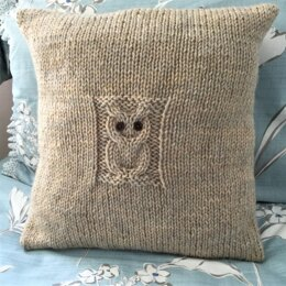 Solitary Owl Cushion Cover