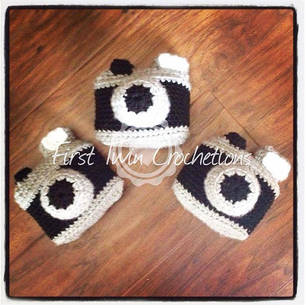 Camera Toy Crochet Pattern, camera amigurumi, camera toy, camera ...
